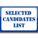 List of Candidates Qualified for Admission